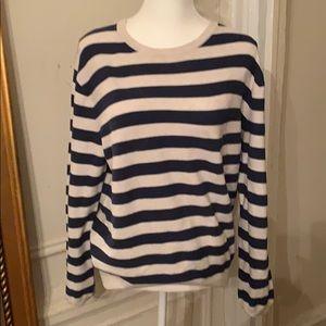 J Crew Medium Striped Sweater